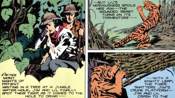 Rogers Seriemagasin: Djungeläventyrsserien Jungle Jim av Alex Raymond