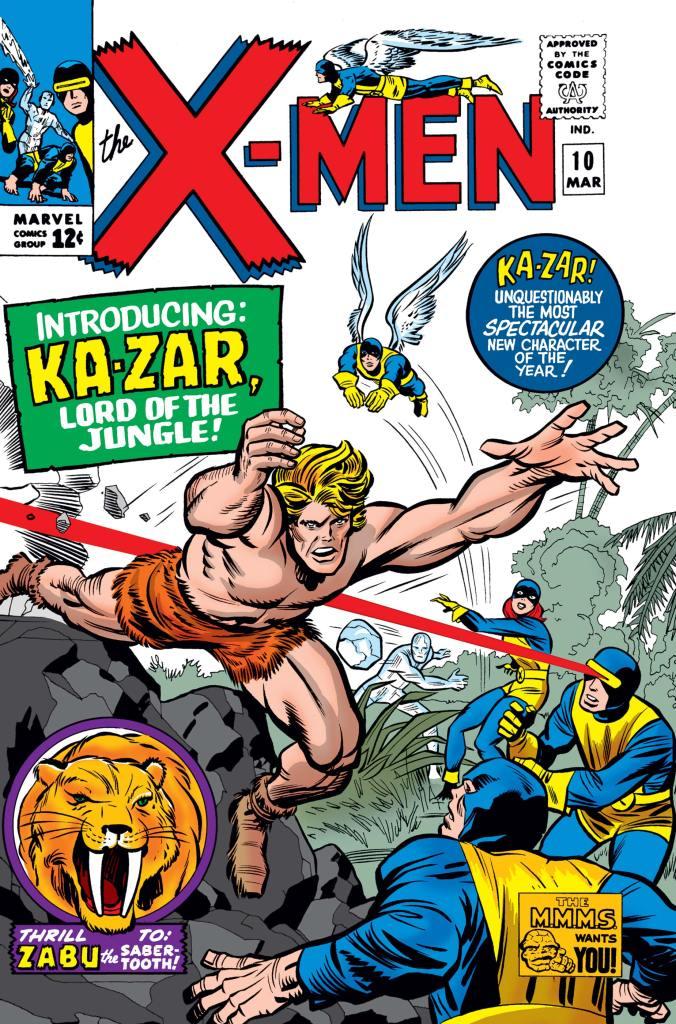 Uncanny X-Men #10 (1965). ©Marvel