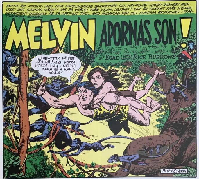 ...som på svenska blev Melvin, Apornas son. ©EC Comics