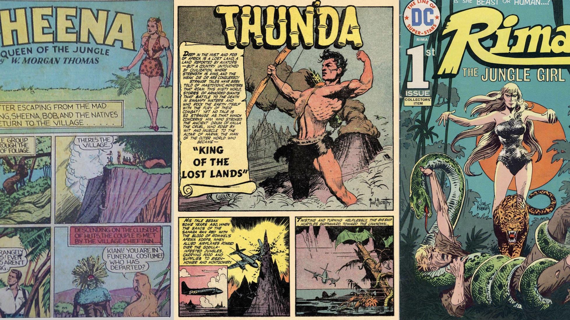 Tarzan var inte den enda Djungelserien