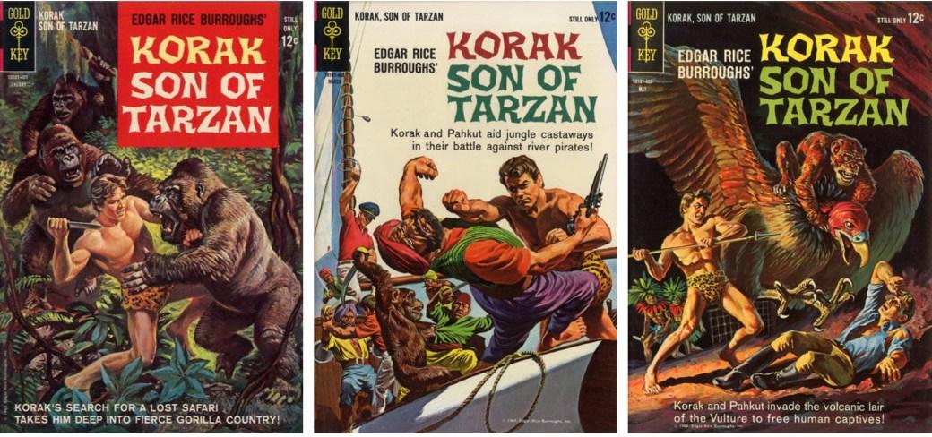 Korak #1-3 (1964) från Gold Key