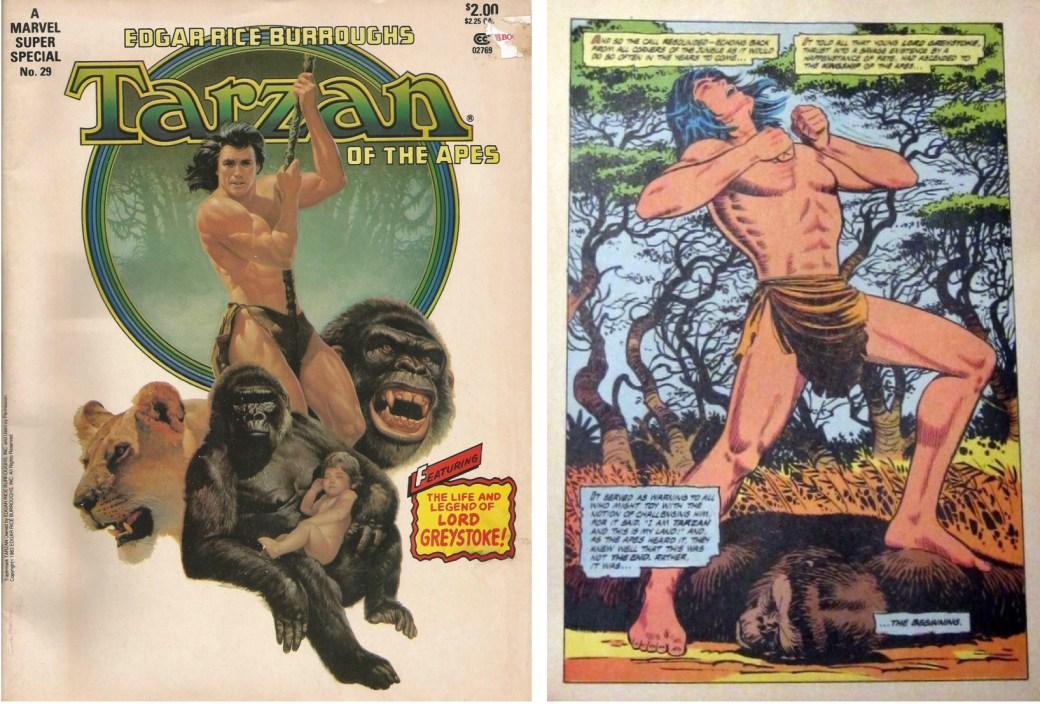 Marvel Super Special #29 med Tarzan.