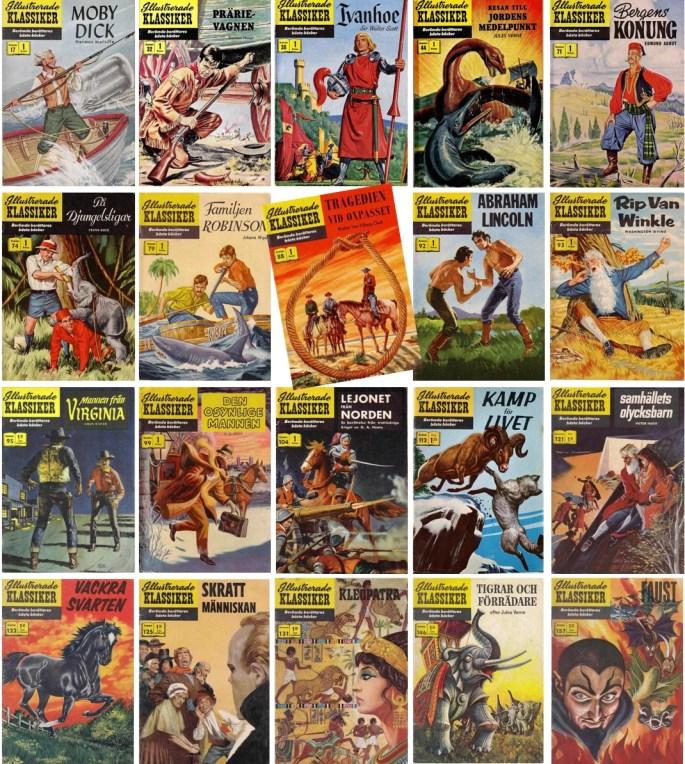 Många serier i Illustrerade klassiker hade Norman Nodel som upphovsman. ©IK/Gilberton