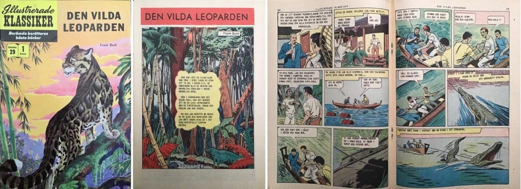 Illustrerade klassiker 21-30: Omslag, förstasida och mittuppslag ur IK nr 29. ©IK/Gilberton