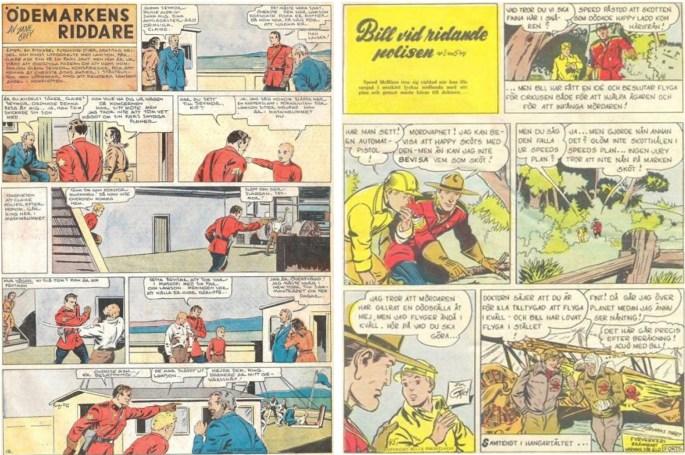 Serien har förekommit i flera publikationer under olika titlar.