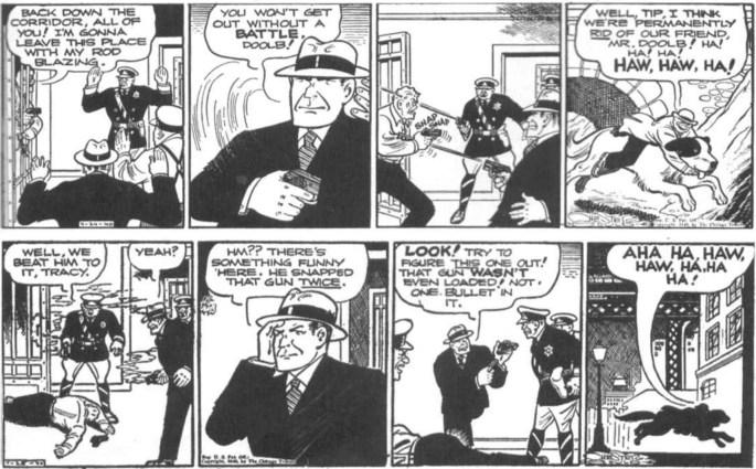 Dagsstripparna från 24-25 april 1940. ©CT/NNNS