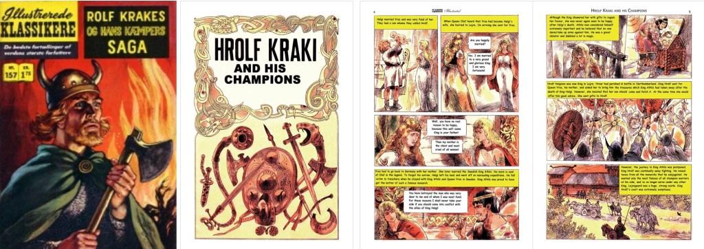 Omslag, förstasida och inledande sidor ur brittiska Classics Illustrated #147. ©T&P