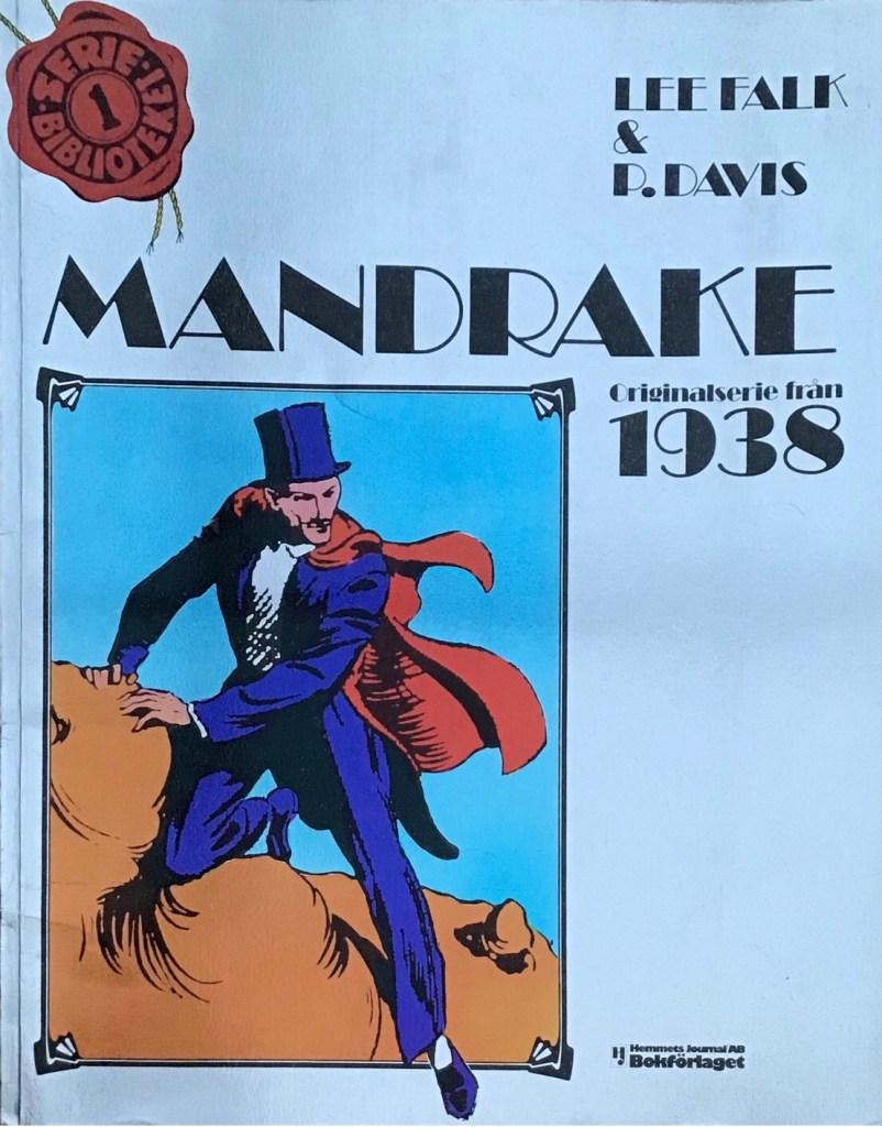 Omslag till Mandrake, Seriebiblioteket (Hemmets Journal) nr 1