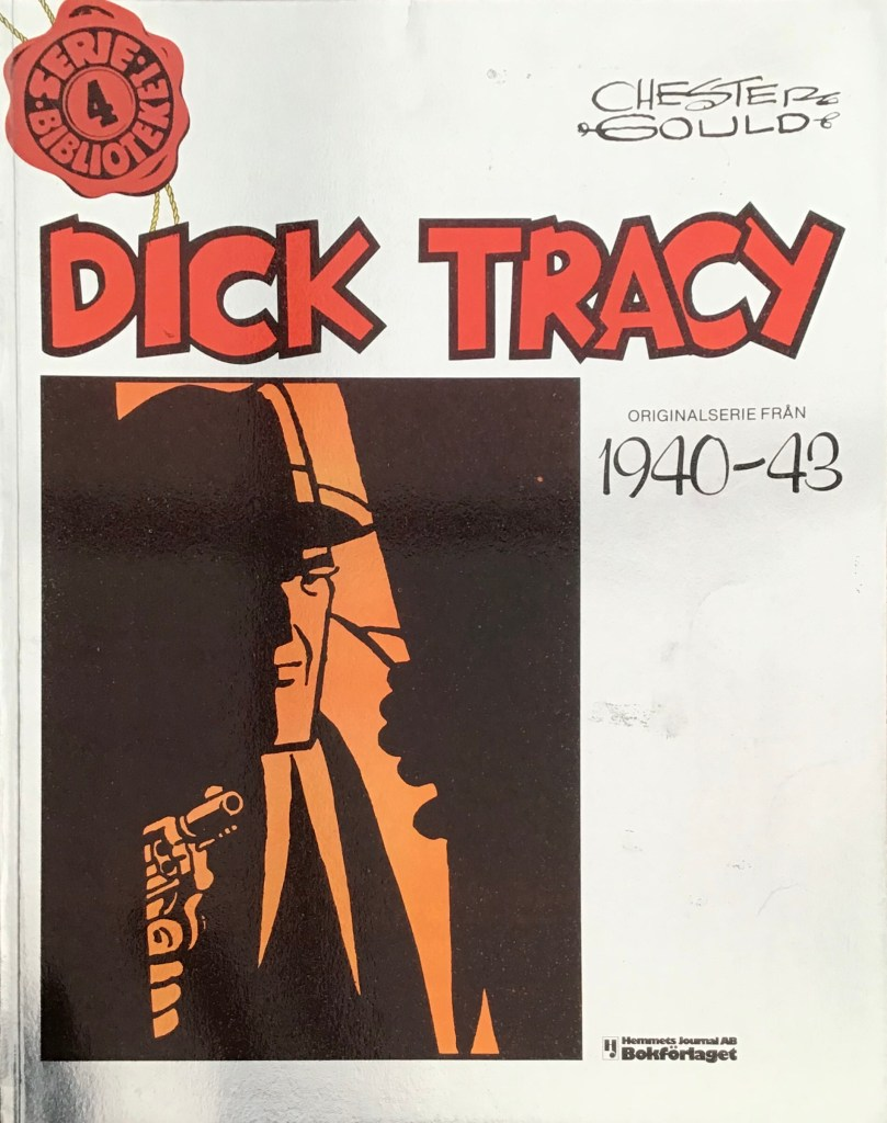 Omslag till Dick Tracy Seriebiblioteket (Hemmets Journal) nr 4