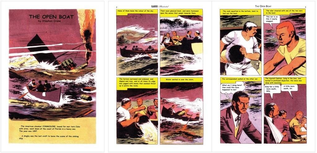 Förstasida och första uppslag i engelsk översättning från 80-talet. ©IK/JES