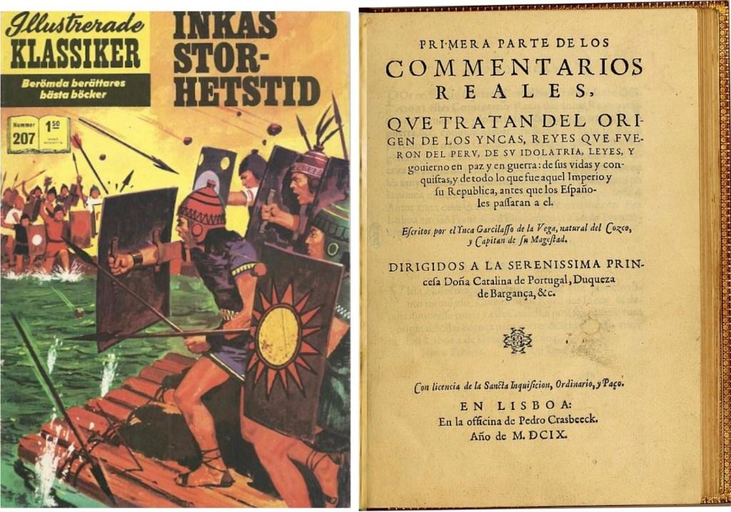 Omslag till IK nr 207, och försättsblad till förlagan från 1609. ©Williams