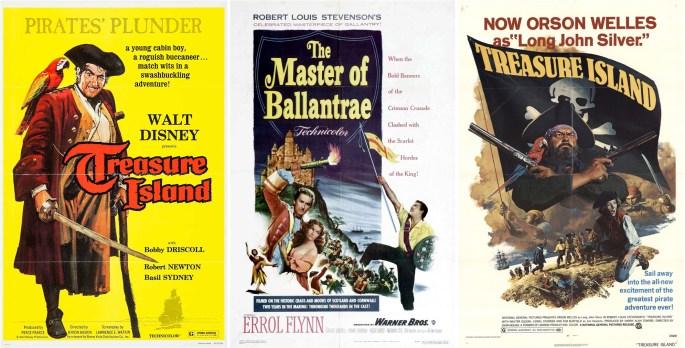 Filmaffischer från 1950, 1953 och 1972. ©Disney/Warner/CCC