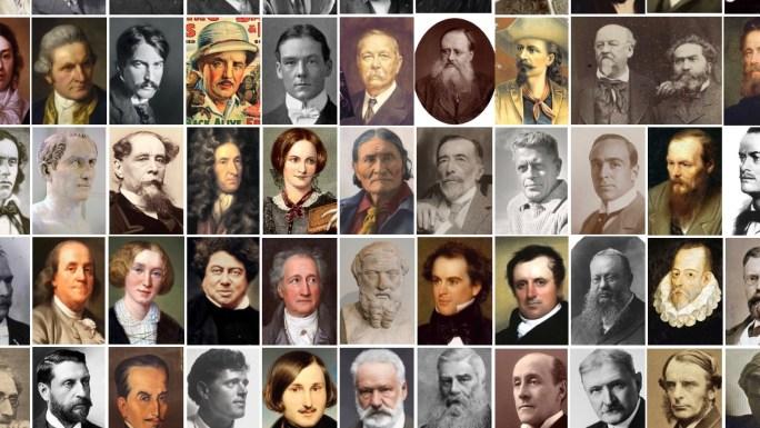 Författarna bakom Illustrerade klassiker