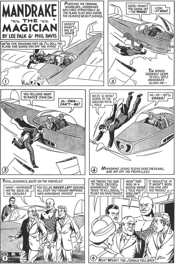Avslutningen av episoden The Caribbean Mystery i original från 16 december 1951. ©KFS