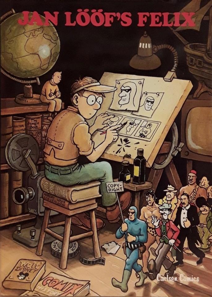 Jan Lööfs Felix (1980). ©Carlsen Comics