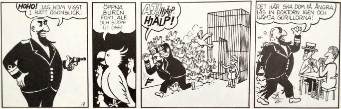 Huvudfiguren hette från början Alf. ©PIB