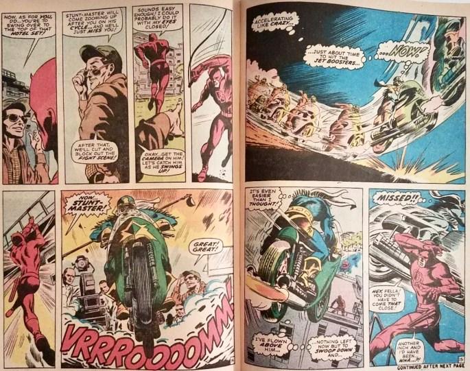 Ett uppslag ur Daredevil #67. ©Marvel