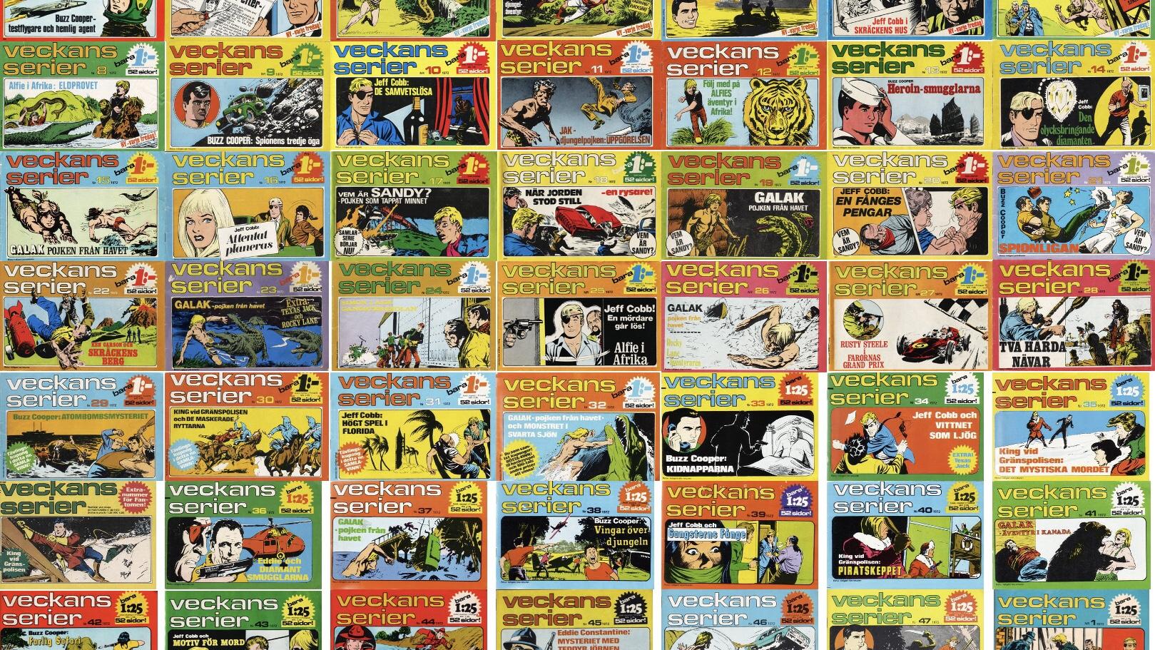 Veckans serier från Semic (1972-73)