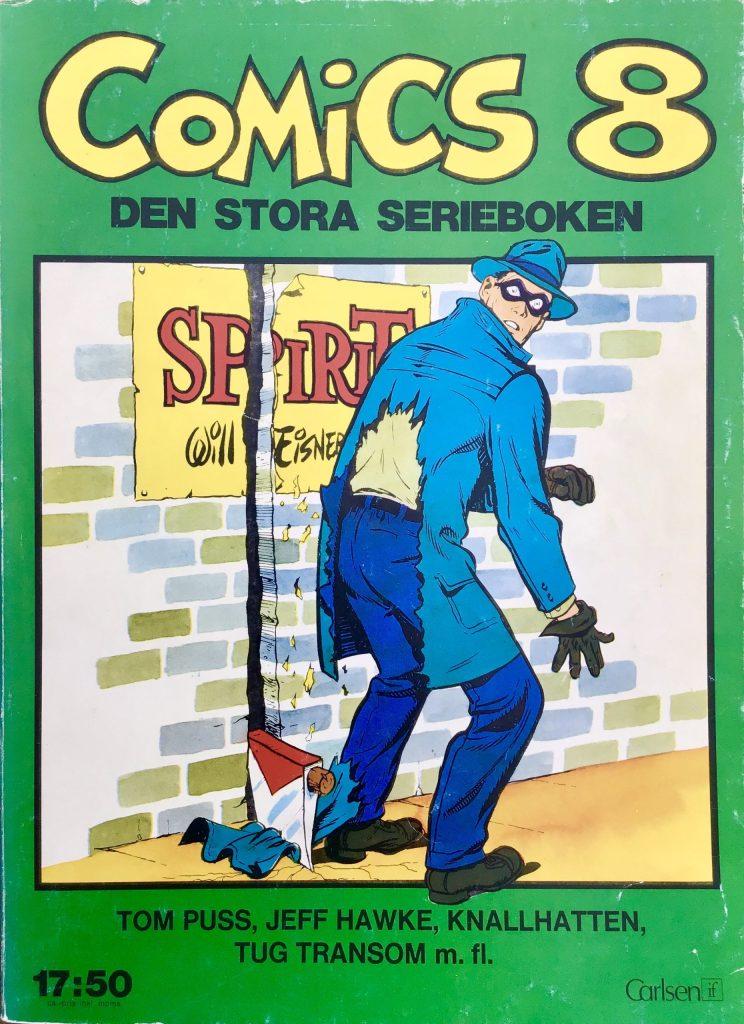 Omslag till Comics, den stora serieboken, nr 8. ©Carlsen/if