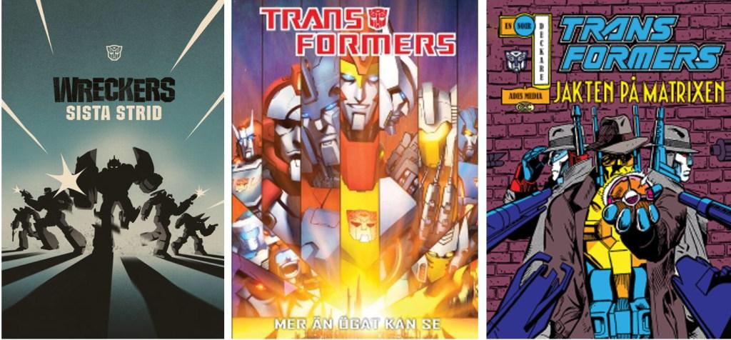 Omslag till Transformers (2018-19). ©Ades