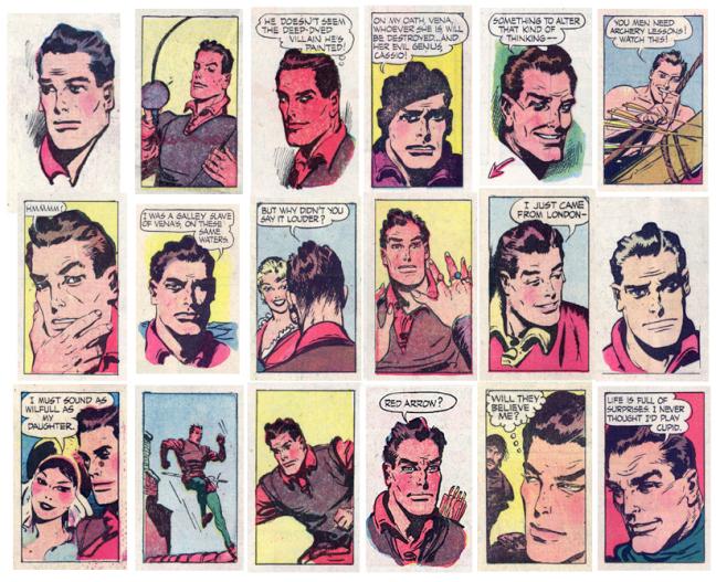 Och Kevin the Bold själv i Throwaway panels. ©NEA