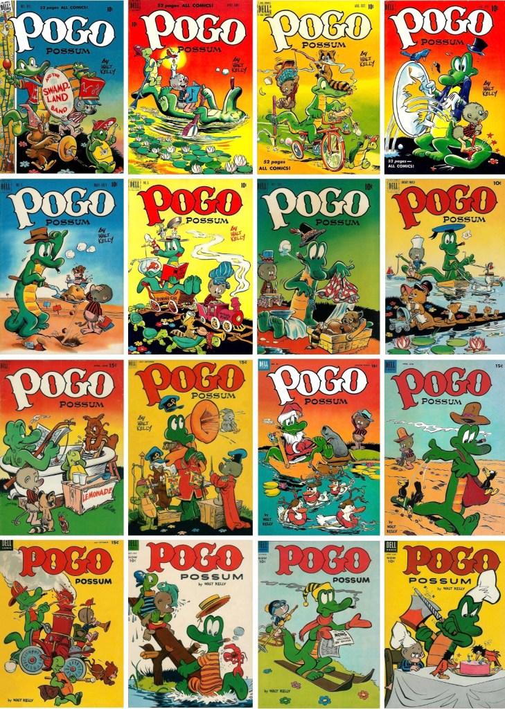 Omslag till Pogo Possum (1949-54). ©Dell