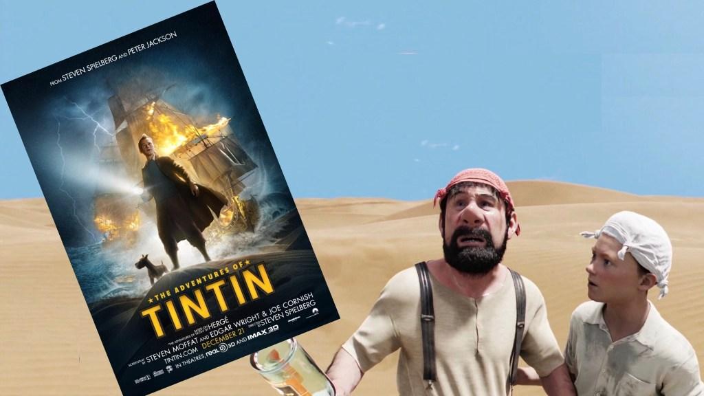 Filmaffisch och stillbild ur The Secret of the Unicorn (2011). ©Columbia