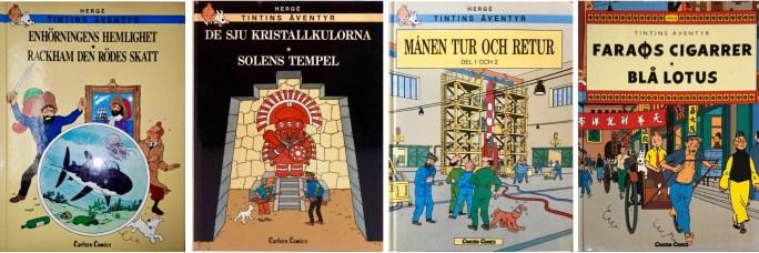 Tintins äventyr med dubbla episoder. ©Carlsen Comics