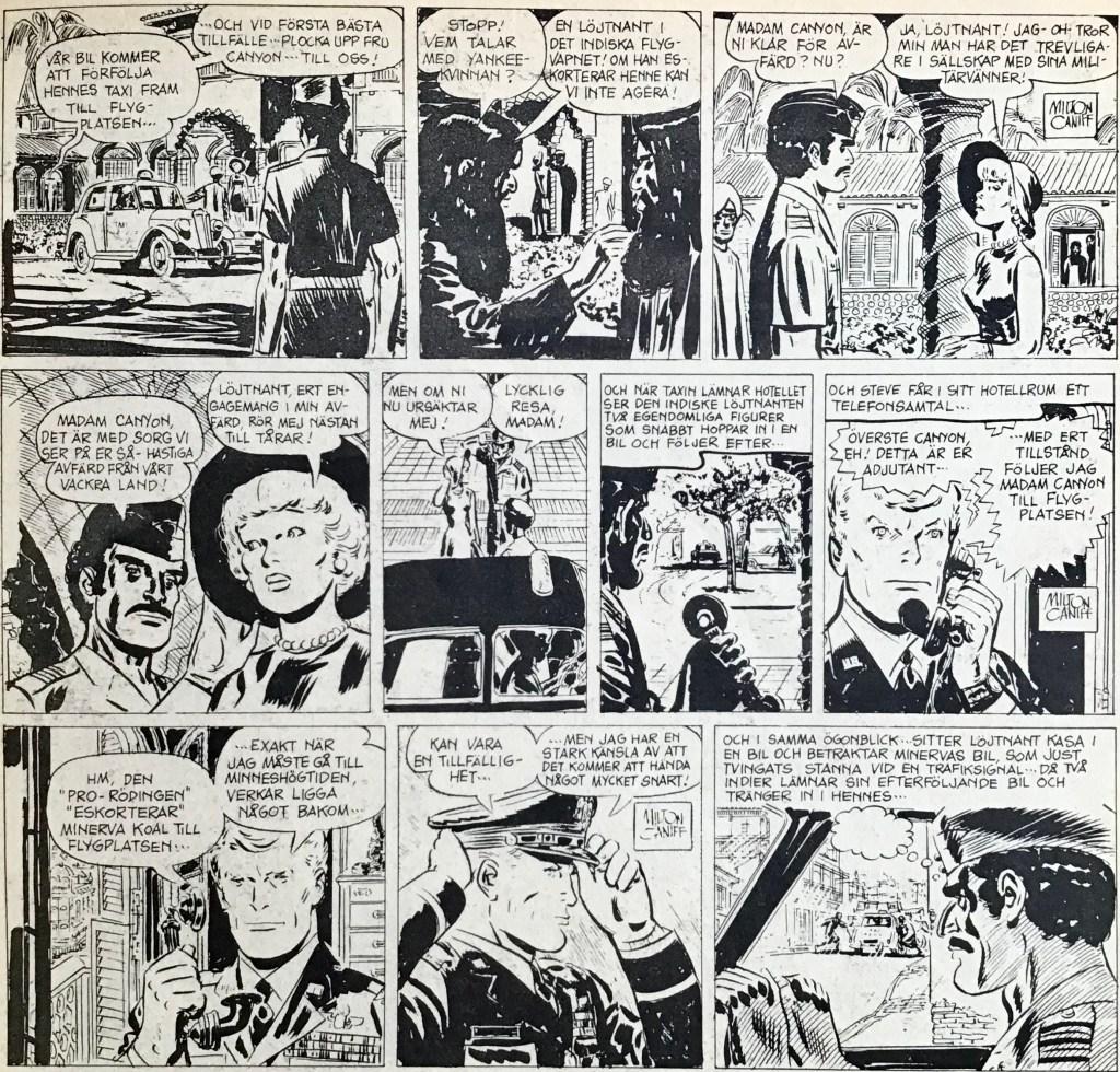 Några dagsstrippar ur Comics nr 4. ©Bulls