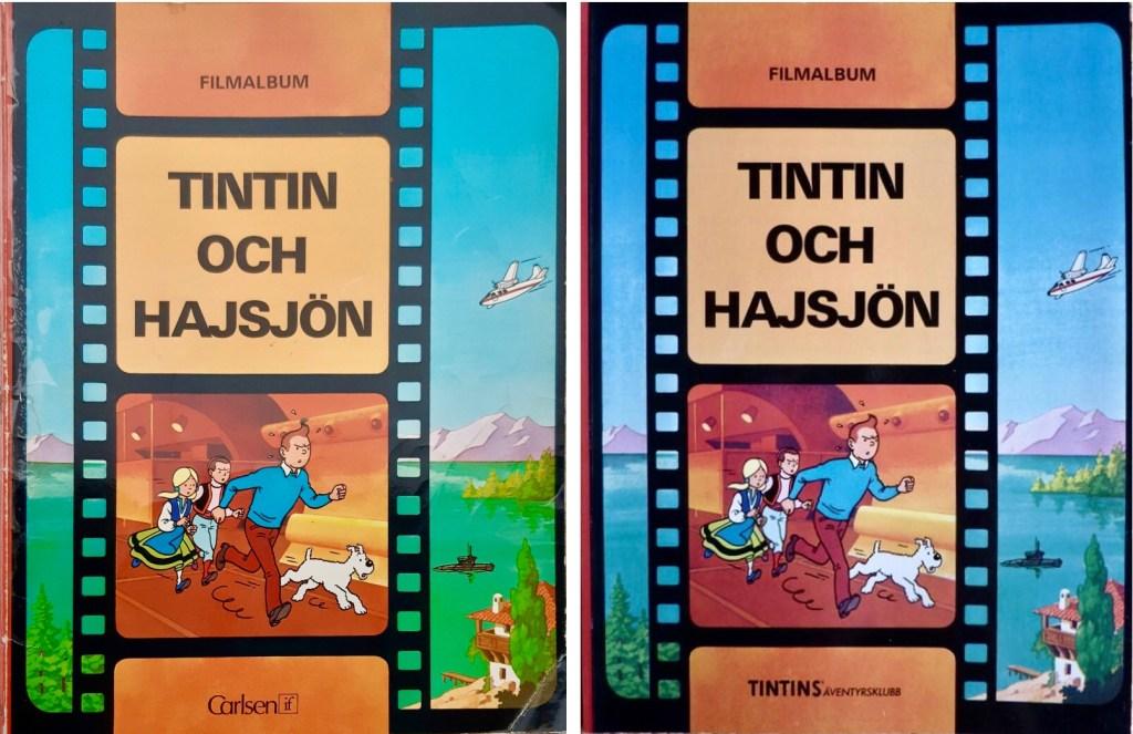 Tintin-äventyret har utkommit på svenska ett par gånger. ©Carlsen/Nordisk bok
