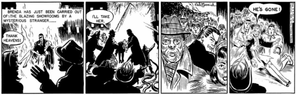 Men han försvinner lika snabbt igen, den 10 december 1945. Mystiken tätnar. ©CT/NYNS