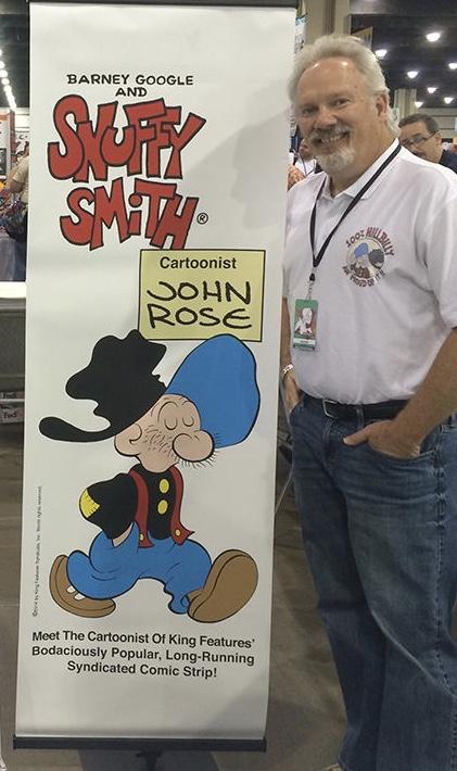 John Rose var en av Tjalle Tvärviggs skapare.