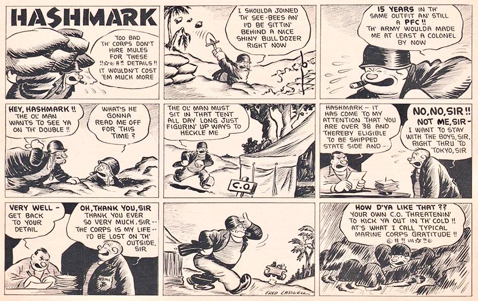 Ett avsnitt med Hashmark.