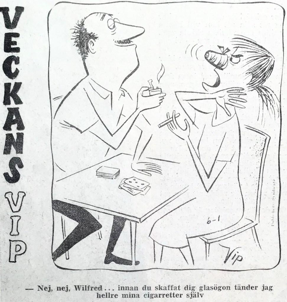Veckans VIP ur Rekordmagasinet nr 17, 1961. ©PIB
