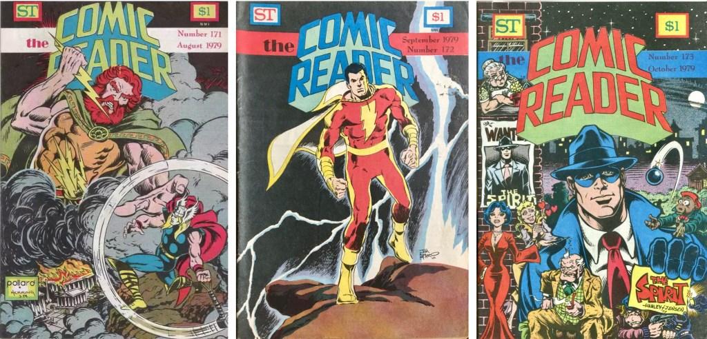 Omslag till The Comic Reader #171-173. ©Street Enterprises