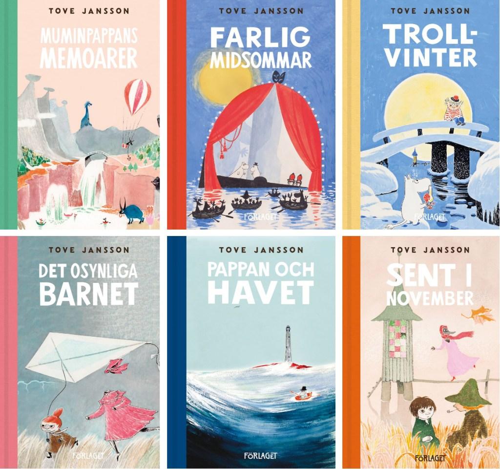 Andra romaner om Mumintrollen av Tove Jansson. ©Moomin Characters