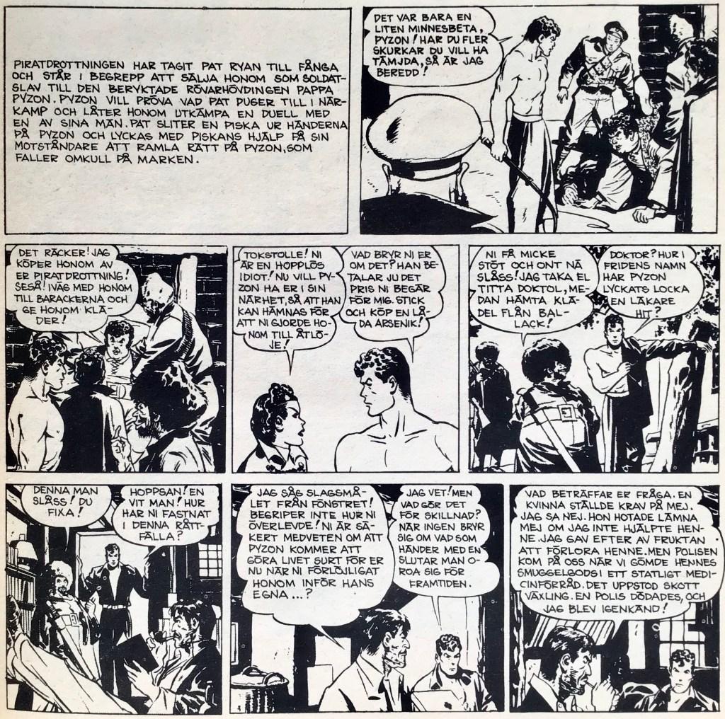 Inledningen i Comics nr 5 börjar med en resumé, eftersom episoden redan pågått några veckor. ©PIB