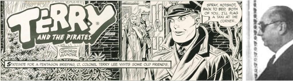 George Wunder tecknade Terry och piraterna i ett kvartssekel. ©CTNYN