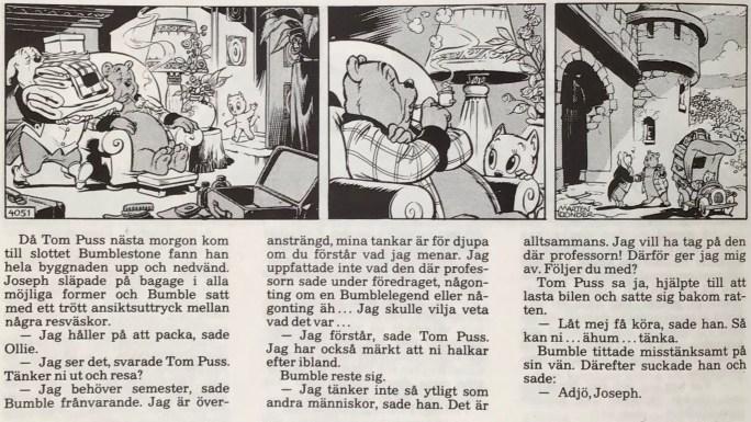 Tom Puss i Dagens Nyheter