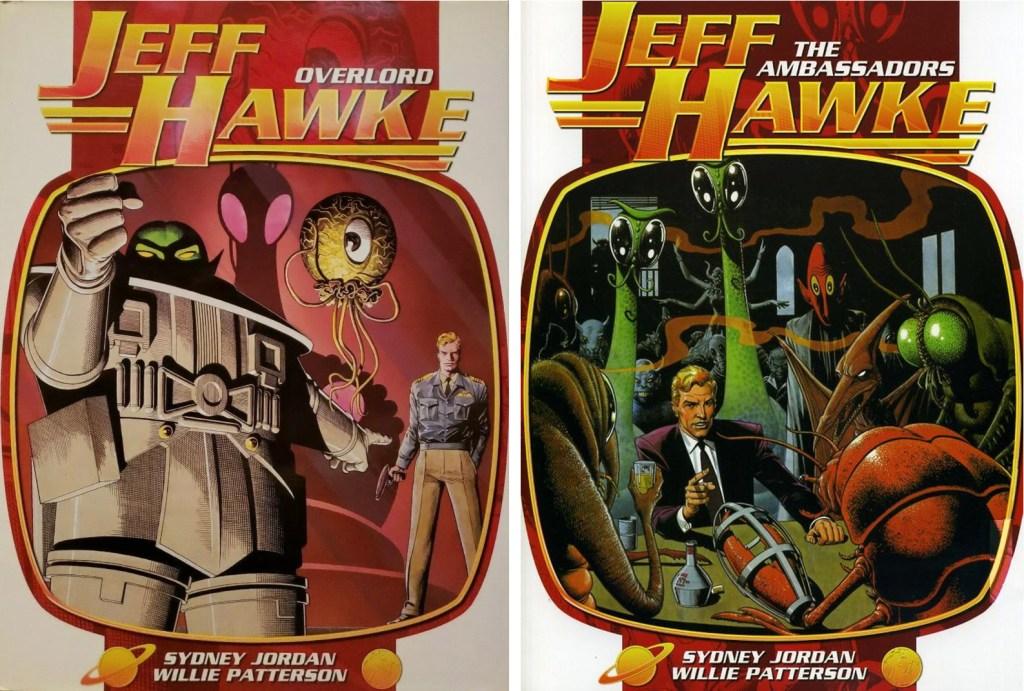 Jeff Hawke, Overlord och The Ambassadors (2008). ©Titan