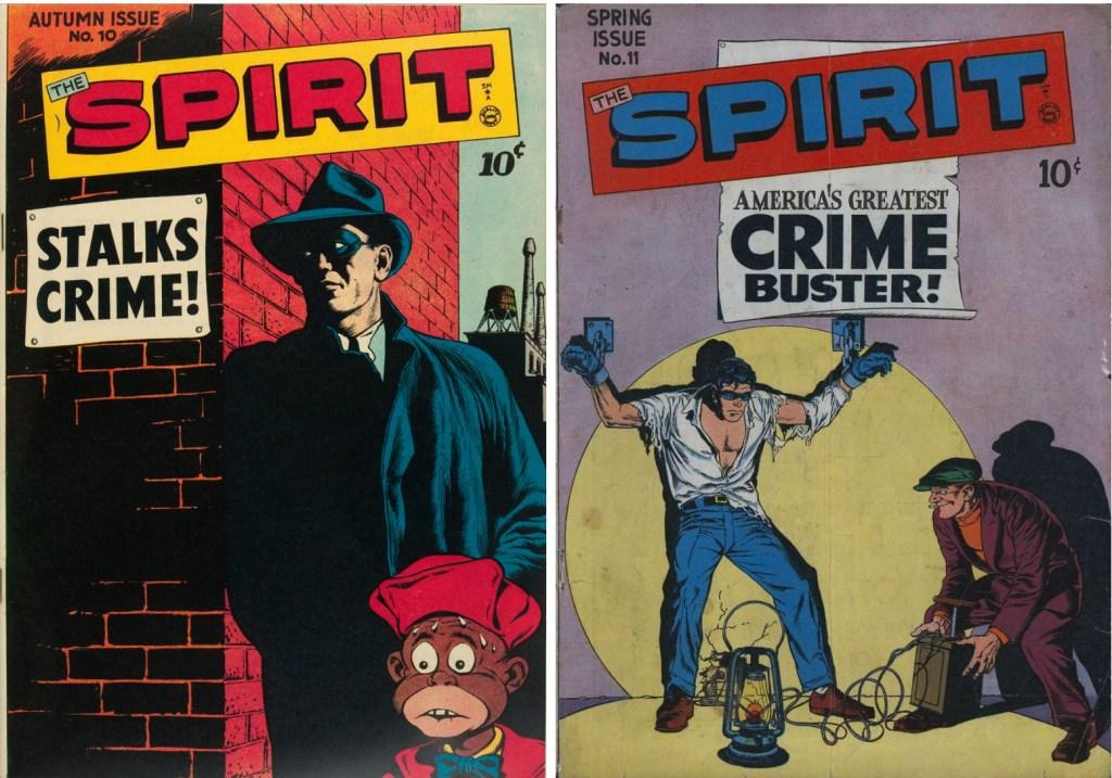 Reed Crandall tecknade ett par omslag (#10-11, 1947-48).