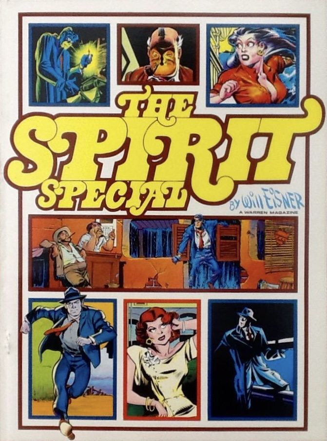 Utgivningen avslutades med ett separat färgnummer, The Spirit Special (1975).