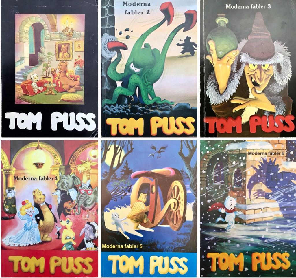 Omslag till seriealbum (1979-87). ©Alvglans