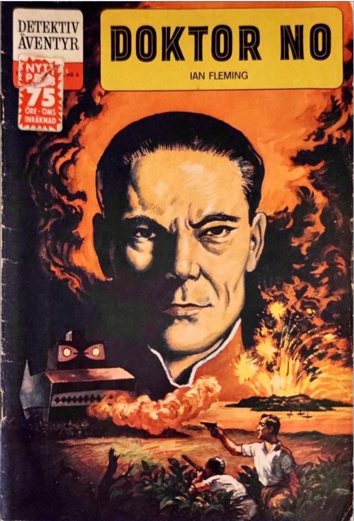 Omslag till Detektiväventyr nr 6 (1962). ©Williams
