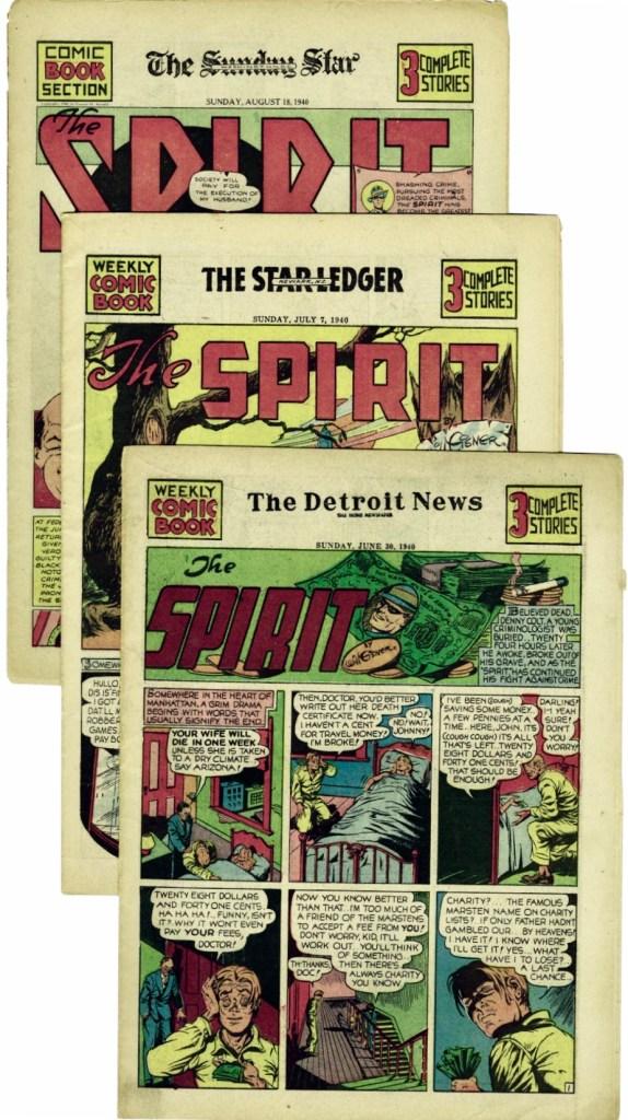Seriebilagan med Spirit var publicerad i ett flertal tidningar. ©Register&Tribune