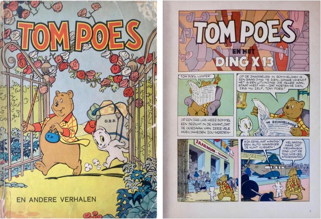Omslag och inledning av episoden i original, i en utgåva från 1960. ©STA