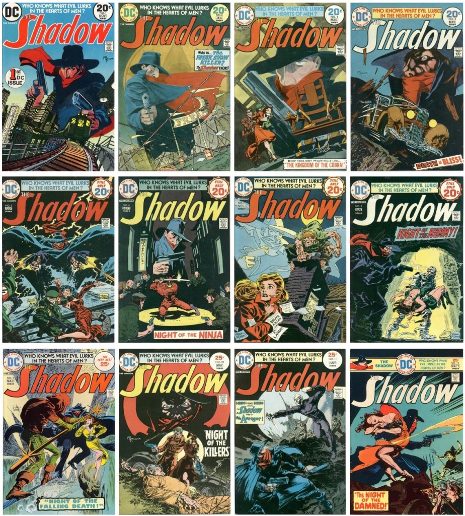 Omslag till The Shadow (1973-75). ©DC