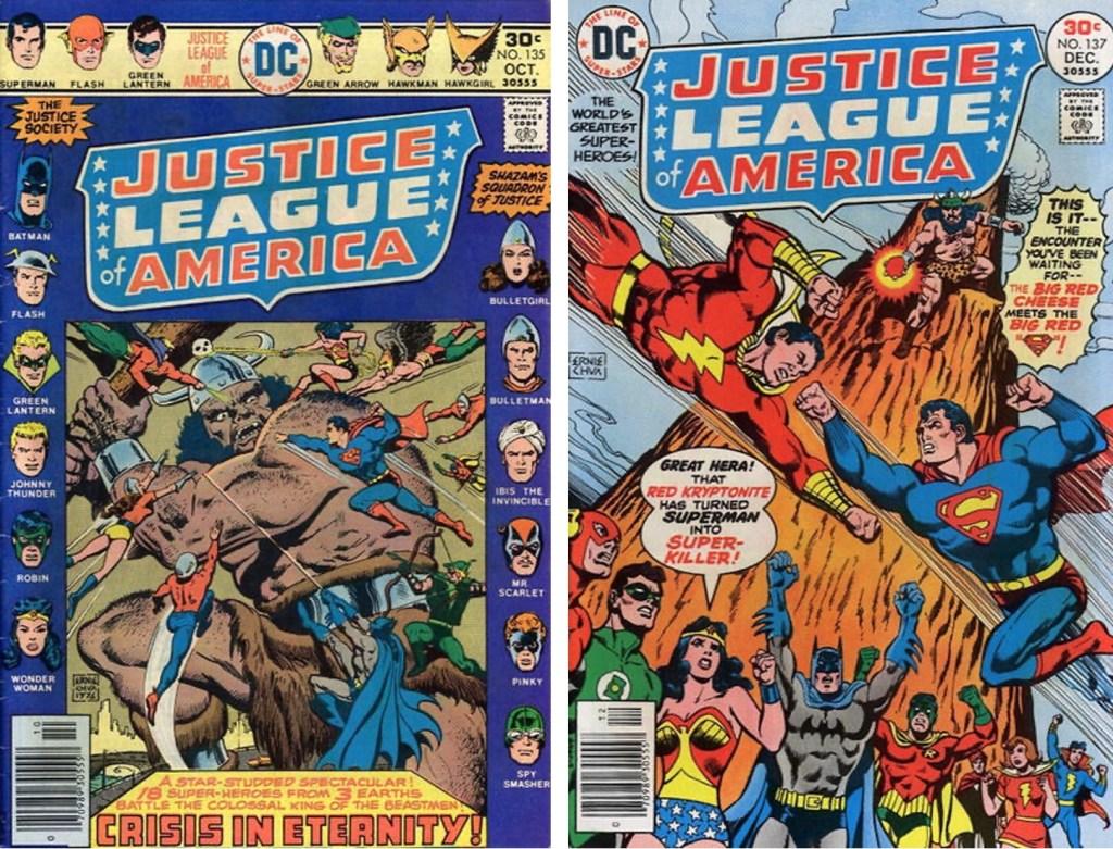 Ibis var en av seriefigurerna i Justice League of America #135 och #137. ©DC