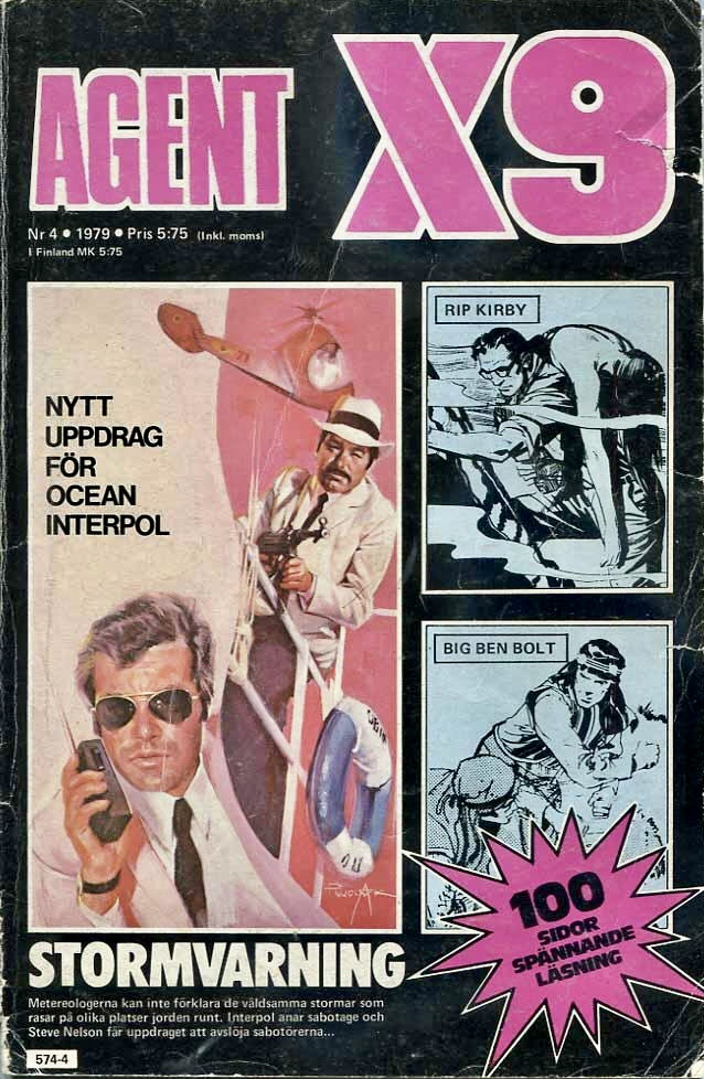 Agent X9 nr 4, 1979