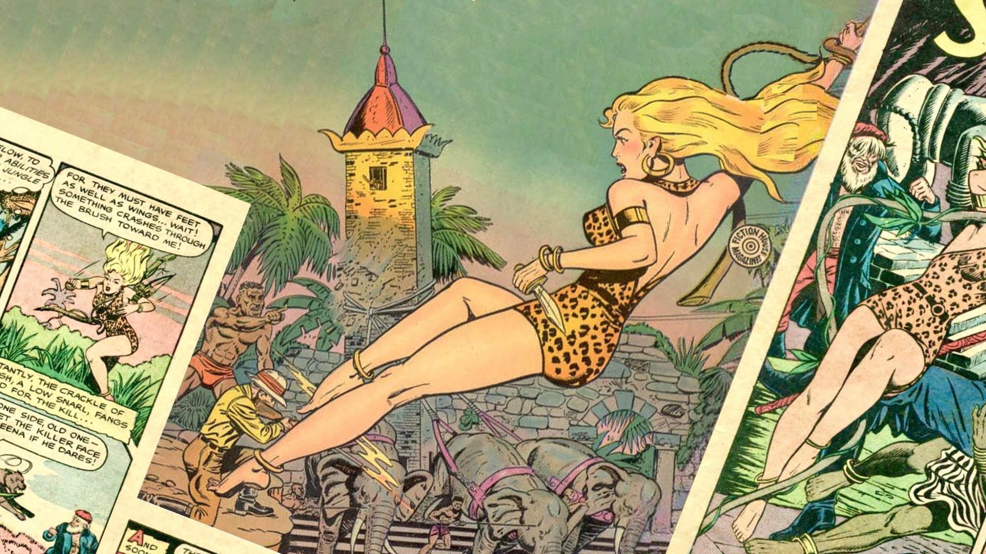 Sheena, en djungeldrotting